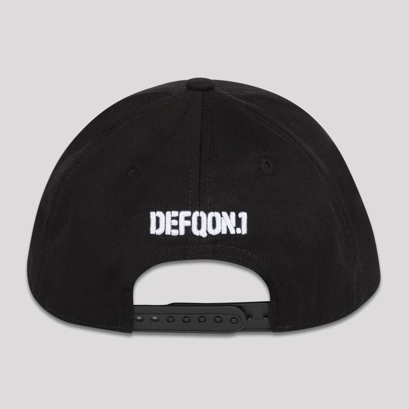 DEFQON.1 BASEBALL CAP BLACK