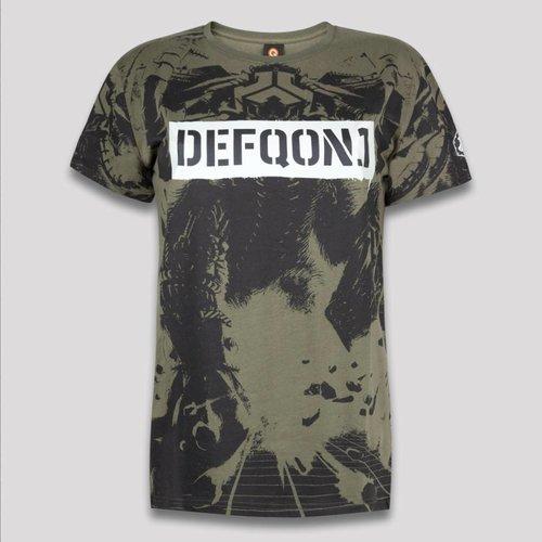 DEFQON.1 DEFQON.1 T-SHIRT ARMY GREEN