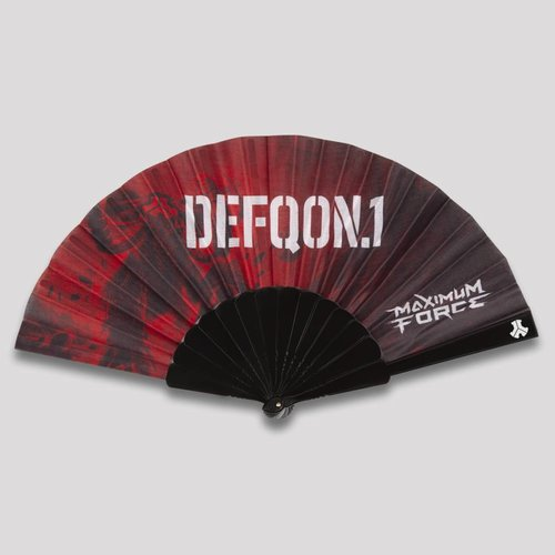 DEFQON.1 DEFQON.1 THEME HANDFAN RED