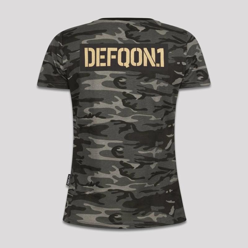 DEFQON.1 T-SHIRT CAMO GREY