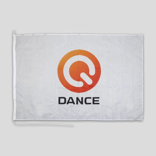 Q-DANCE Q-DANCE FLAG WHITE