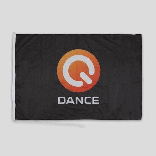 Q-DANCE Q-DANCE FLAG BLACK