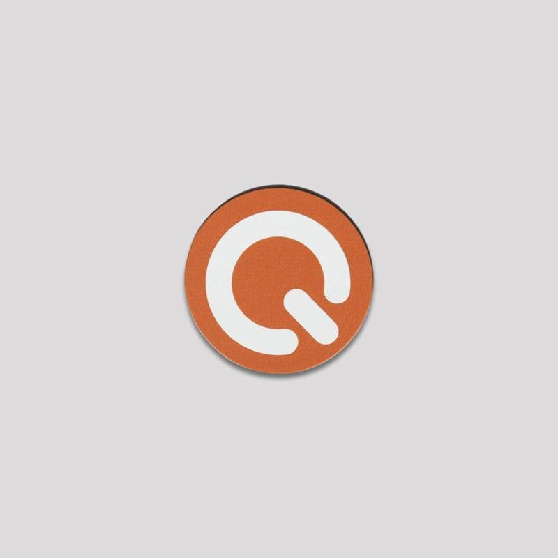 Q-DANCE POPSOCKET ORANGE/WHITE