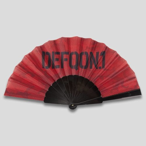Defqon.1 handfan red/black