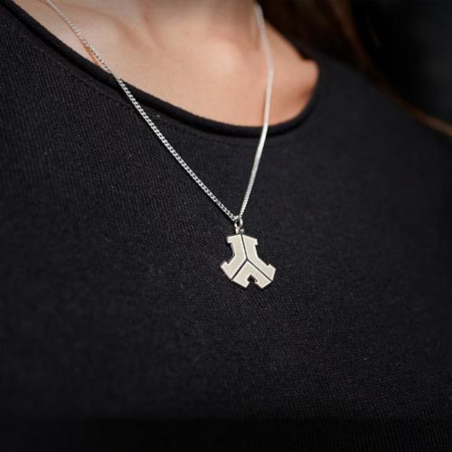 Defqon.1 Silver logo necklace