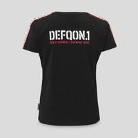Defqon.1 boyfriend t-shirt black/tape