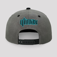 Qlimax snapback grey/black