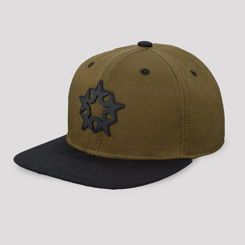 Qlimax snapback green/black