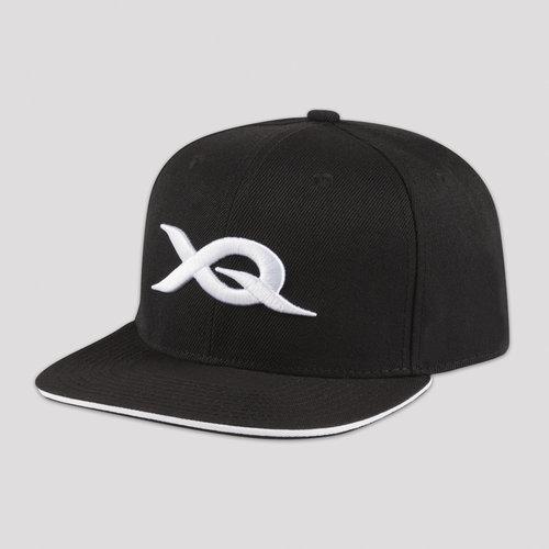 X-qlusive snapback black/white