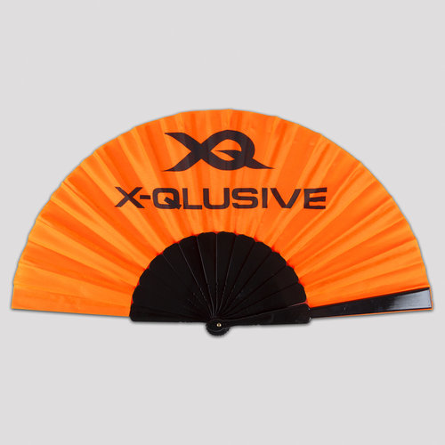X-qlusive holland handfan orange