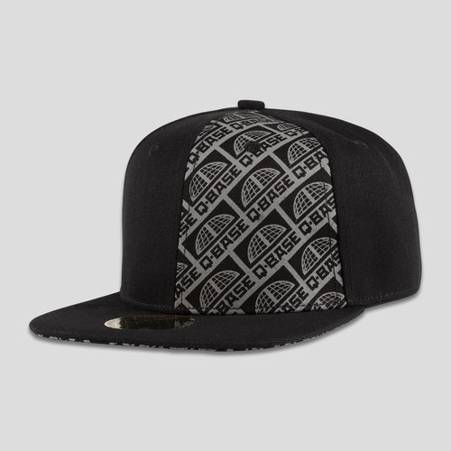 Q-base snapback black/grey