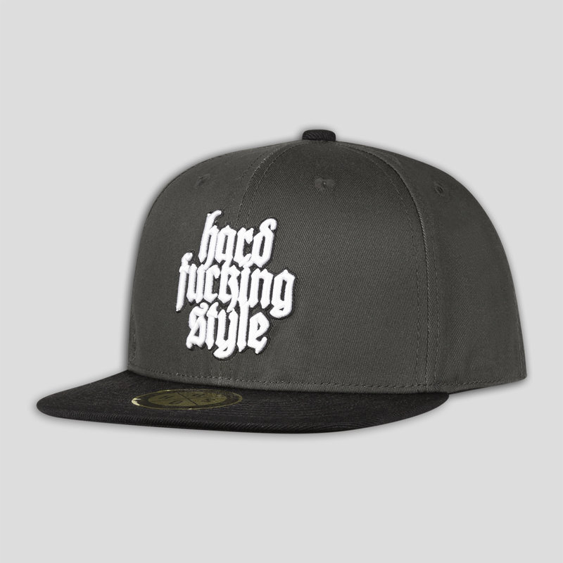 Q-dance snapback anthracite/black