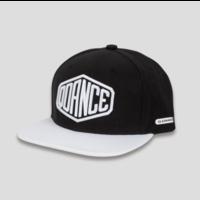 Q-dance snapback black/white