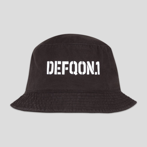 Defqon.1 bucket hat black