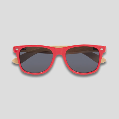 Defqon.1 sunglasses red/bamboo