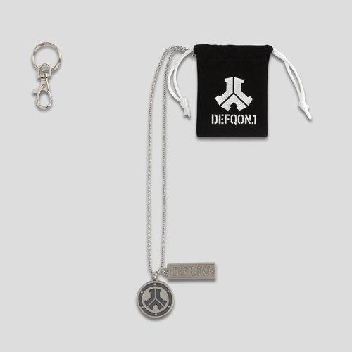 Defqon.1 necklace metal/black
