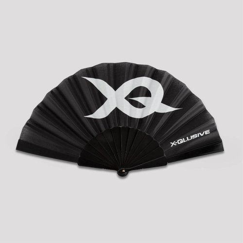 X-qlusive handfan black/white