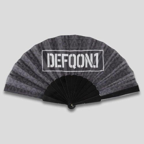 Defqon.1 handfan black/pattern