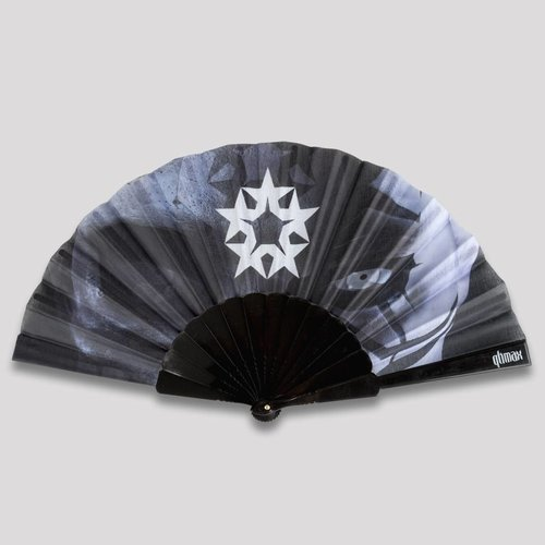 Qlimax handfan black/grey