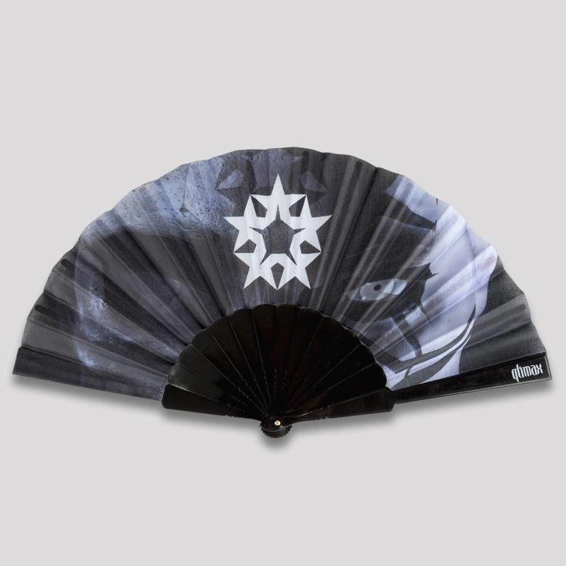 Qlimax handfan black/grey