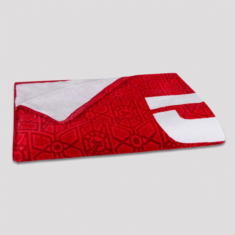 Defqon.1 beach towel red