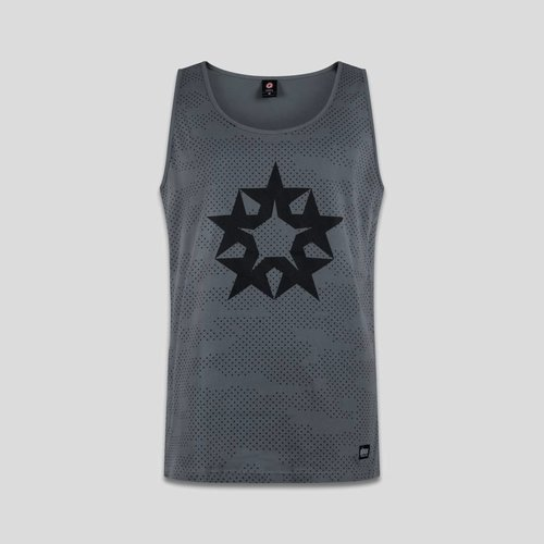 Qlimax tanktop grey/black