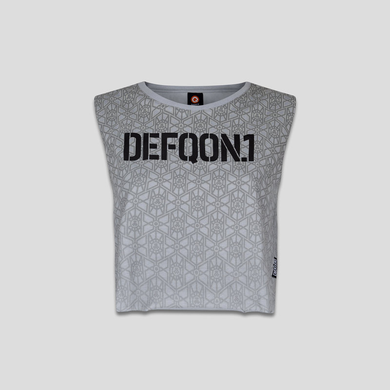 Defqon.1 short tee light grey