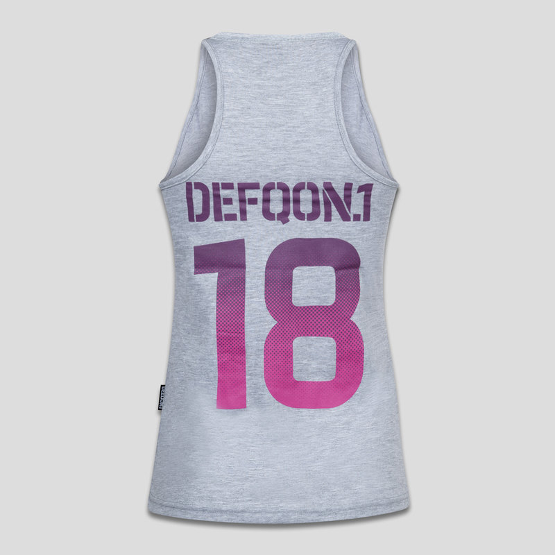 Defqon.1 tanktop heather grey