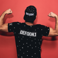 Defqon.1 Power Hour t-shirt black/crosses
