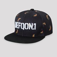 Defqon.1 Power Hour snapback black/banana