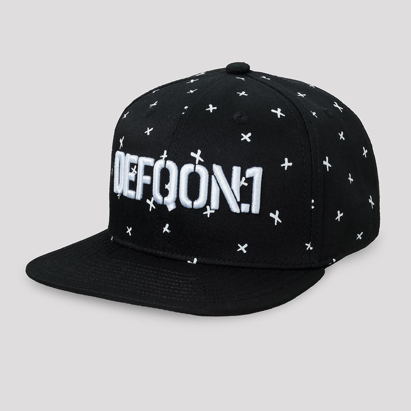 Defqon.1 Power Hour snapback black/crosses