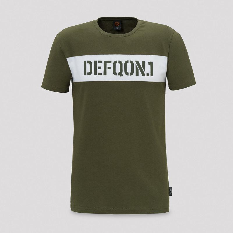 Defqon.1 t-shirt army green