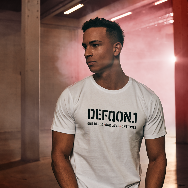Defqon.1 t-shirt white/one tribe