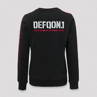 Defqon.1 crewneck black/tape