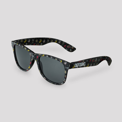 Defqon.1 Power Hour sunglasses black/pattern