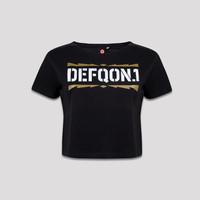 DEFQON. 1 SHORT TEE BLACK