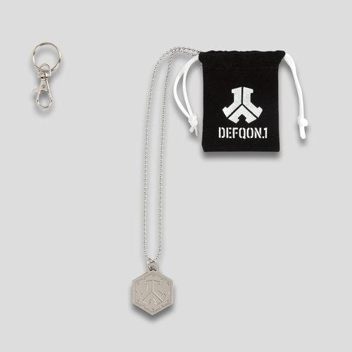 Defqon.1 necklace metal