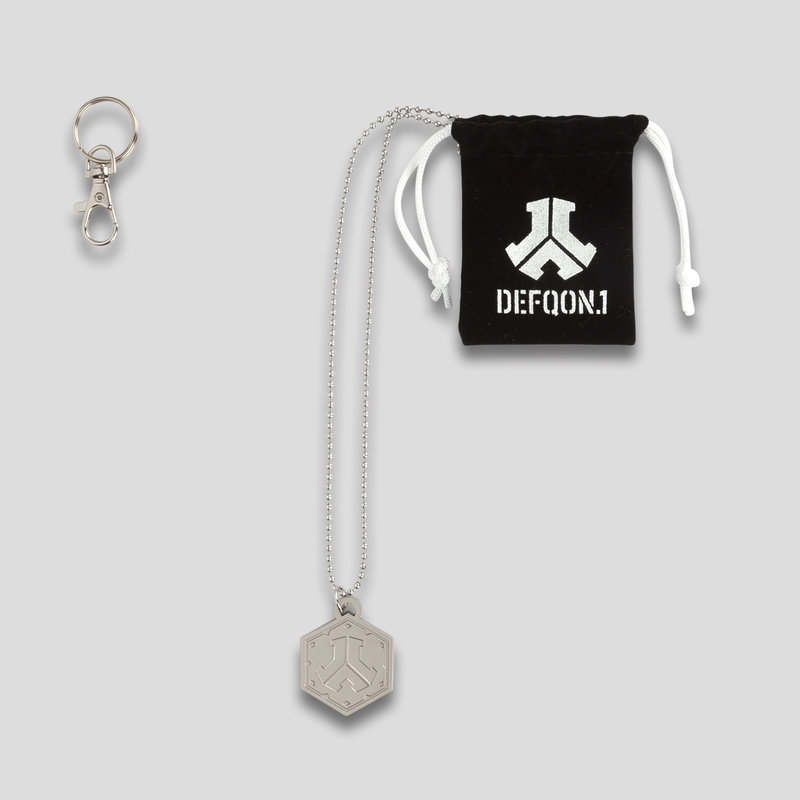 Defqon.1 necklace metal