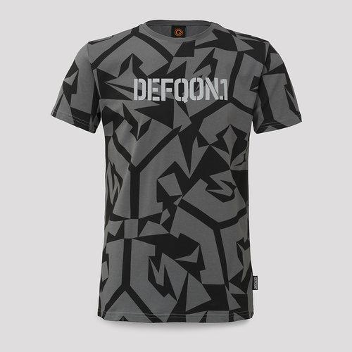Defqon.1 t-shirt anthracite/black