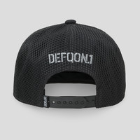 Defqon.1 snapback black/metal