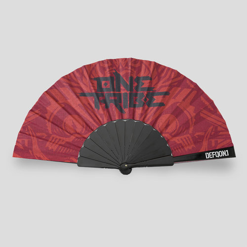 Defqon.1 handfan red/one tribe
