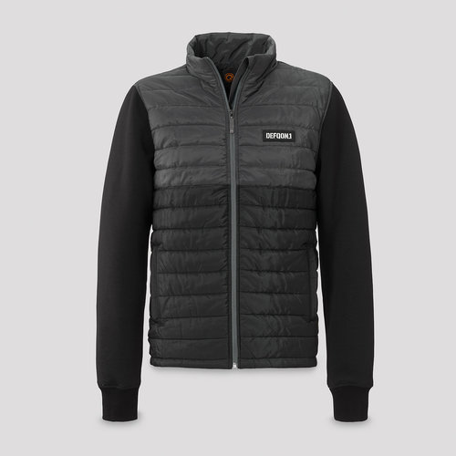 Defqon.1 padded jacket black/grey