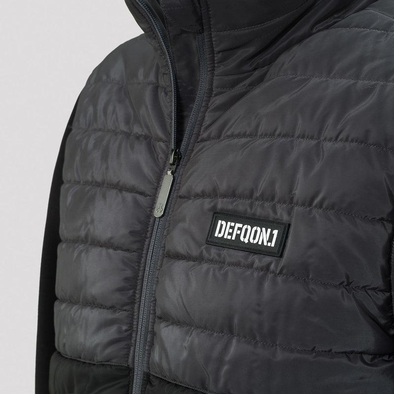 Defqon.1 padded jacket black/grey