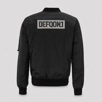 Defqon.1 reversible bomber black