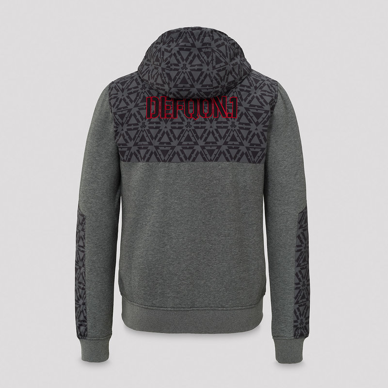 Defqon.1 nylon sweat grey/pattern