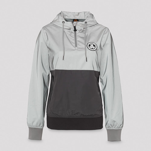 Defqon.1 wind jacket grey/reflective
