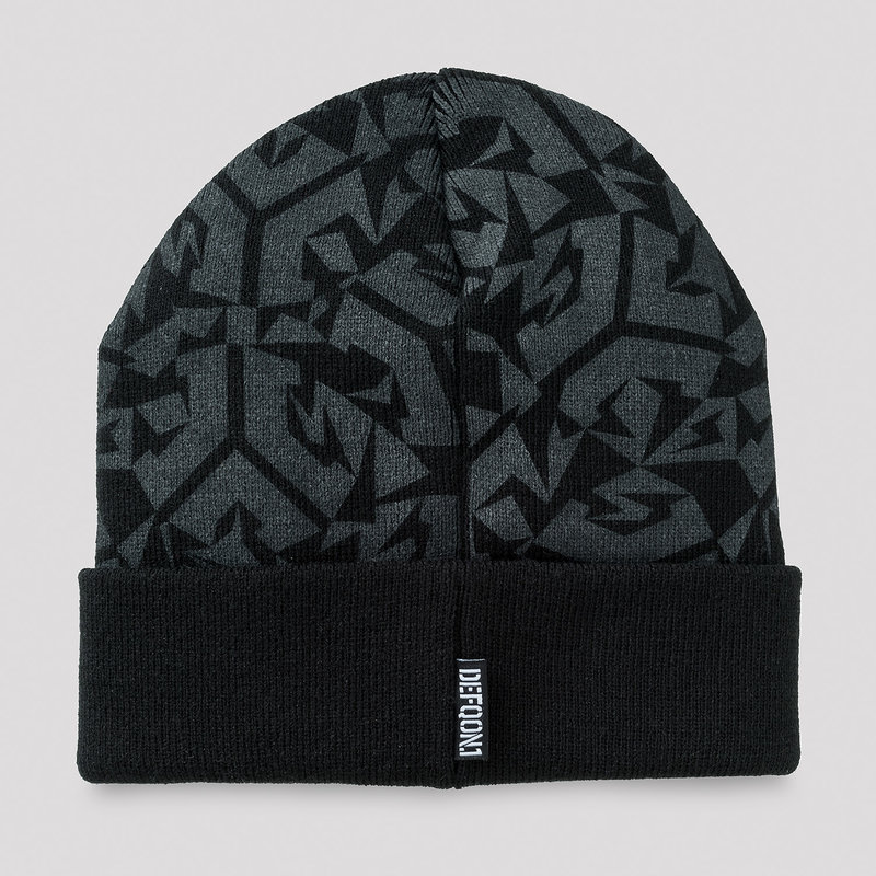 Defqon.1 Wasted beanie black/grey