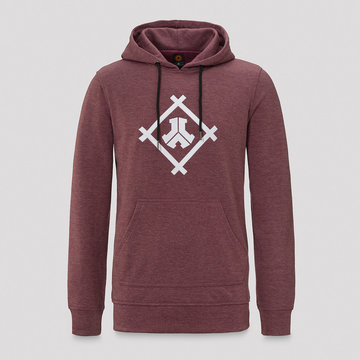 DEFQON.1 Defqon.1 long hoodie burgundy/white