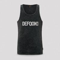 Defqon.1 tanktop black/stonewash