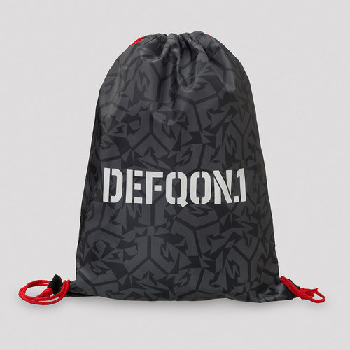 Defqon.1 stringbag grey/pattern